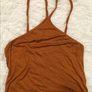 NWOT PacSun Me to We Cropped Tank